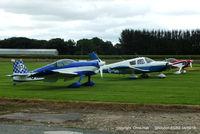 Shobdon Aerodrome - Royal Aero Club RRRA air race at Shobdon - by Chris Hall