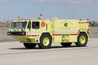 Yuma Mcas/yuma International Airport (NYL) - firetruck on duty - by olivier Cortot