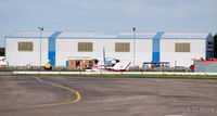 Blackpool International Airport, Blackpool, England United Kingdom (EGNH) - The Blackpool Air Centre Hangar at Blackpool Airport EGNH - by Clive Pattle