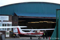 City Airport Manchester - Martin Air Hangar at Manchester City Airport, Barton EGCB - by Clive Pattle