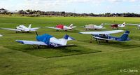 City Airport Manchester - GA park at Manchester City Airport, Barton EGCB - by Clive Pattle