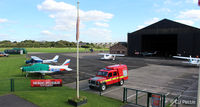 City Airport Manchester - View from the tower at Manchester City Airport, Barton EGCB - by Clive Pattle