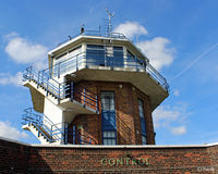 City Airport Manchester - The tower at Manchester City Airport, Barton EGCB - by Clive Pattle