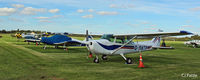 City Airport Manchester - GA park view at Manchester City Airport, Barton EGCB - by Clive Pattle