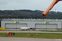 Aberdeen Airport - The NHV Helicopters hangar at ABZ - by Clive Pattle