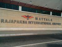 Hermiston Municipal Airport (HRI) - MRIA main entrance in Hambantota (Southern Sri Lankan Airport) - by Shiran