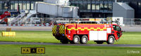 Manchester Airport, Manchester, England United Kingdom (EGCC) - Fire and rescue tender at EGCC - by Clive Pattle