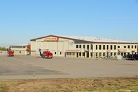 Boise Air Terminal/gowen Fld Airport (BOI) - Firehawk Helicopters ramp. NW corner of the airport. - by Gerald Howard