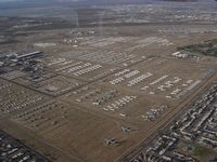 Davis Monthan Afb Airport (DMA) - Overflying - by Keith Sowter