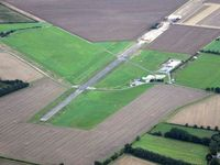 Old Buckenham Airport - Taken from a hot air balloon - by Keith Sowter