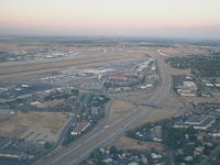 Boise Air Terminal/gowen Fld Airport (BOI) - Photo of BOI looking towards the SW. - by Gerald Howard