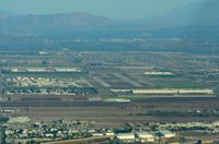 Chino Airport (CNO) - Chino Airport a few miles out. - by FerryPNL