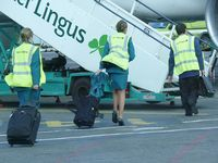 Dublin International Airport, Dublin Ireland (EIDW) - crew Aer Lingus boarding - by Jean Goubet-FRENCHSKY