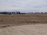 Kingman Airport (IGM) - Stored aircraft - by Keith Sowter