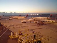 Ontario International Airport (ONT) - Stands at Dawn - by Keith Sowter