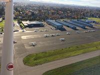 Petaluma Municipal Airport (O69) - Departing to the southeast - by Timothy Aanerud