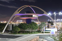 Los Angeles International Airport (LAX) - at night - by Jeroen Stroes