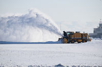 Boise Air Terminal/gowen Fld Airport (BOI) - Outside maintenance working on latest snow storm. - by Gerald Howard