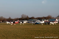 Wickenby Aerodrome Airport, Lincoln, England United Kingdom (EGNW) - at the Wickenby Turkey Curry fly in - by Chris Hall