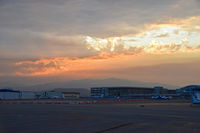 Boise Air Terminal/gowen Fld Airport (BOI) - Early morning on the north GA ramp. - by Gerald Howard