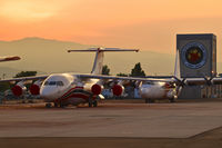 Boise Air Terminal/gowen Fld Airport (BOI) - Early morning on the National Interagency Fire Center ramp. - by Gerald Howard