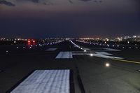 Boise Air Terminal/gowen Fld Airport (BOI) - Pre dawn runway check on RWY 10R. - by Gerald Howard