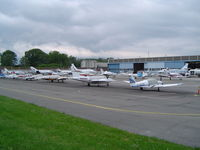 Geneva Cointrin International Airport - GA Parking Area - by Keith Sowter