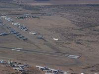 Pinal Airpark Airport (MZJ) - Image taken through perspex window of aircraft whilst overflying / taxying around  - by Keith Sowter