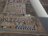 Davis Monthan Afb Airport (DMA) - Aerial View of AMARC - by Keith Sowter