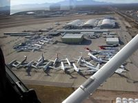 Tucson International Airport (TUS) - Storage area - by Keith Sowter