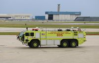Chicago O'hare International Airport (ORD) - Fire/Crash Rescue - by Mark Pasqualino