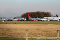 Kemble Airport - 4 ex Jet2 B737's in the scrapping area at Kemble - by Chris Hall