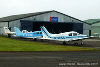 Gloucestershire Airport, Staverton, England United Kingdom (EGBJ) - outside the Aeros hangar at Staverton - by Chris Hall