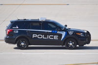 Boise Air Terminal/gowen Fld Airport (BOI) - Boise City Police provide security for airport. - by Gerald Howard