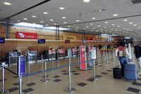 Hobart International Airport - Check-in area - by Micha Lueck