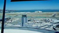 San Francisco International Airport (SFO) - Shot taken from new tower at SFO. 2016. - by Clayton Eddy