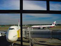Narita International Airport (New Tokyo) - Japan Air Boeing 747 at Tokyo-Narita Airport in 2003 - by miro susta