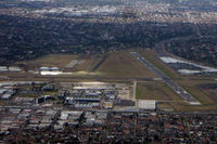 Essendon Airport - Taken from VH-QPG (MEL-SIN) - by Micha Lueck
