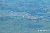 Hamilton International Airport, Hamilton New Zealand (NZHN) - Hamilton airport viewed from the west - by Peter Lewis