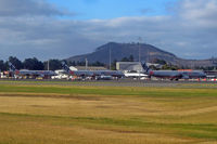Hobart International Airport - JQ has only 8 A321s, so a quarter of that fleet is on this photo - by Micha Lueck