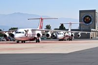 Boise Air Terminal/gowen Fld Airport (BOI) - Fire tankers parked on NIFC ramp. - by Gerald Howard