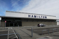 Hamilton International Airport, Hamilton New Zealand (NZHN) - Hamilton's airport is plain from the outside, but quite nice inside. - by Micha Lueck