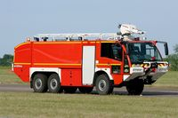 Tours Val de Loire Airport - Fire truck on display, Tours-St Symphorien Air Base 705 (LFOT-TUF) Open day 2015 - by Yves-Q
