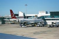 Istanbul Atatürk International Airport - Istanbul Atatürk International Airport (LTBA-IST), boarding ramp 201 - by Yves-Q