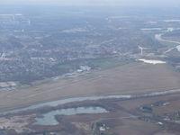 Middletown Regional/hook Field Airport (MWO) - Hook Field taken from a Piper J-3 Cub - by Christian Maurer