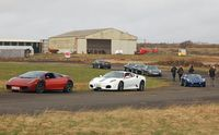 Swansea Airport - Experience Limits performance cars track day. - by Roger Winser