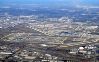Chicago O'hare International Airport (ORD) - Chicago O'Hare has 8 runways, more than any  major international airport. - by Jean M Braun