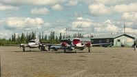 Fort Yukon Airport (FYU) - Mid 90's - by Clayton Eddy