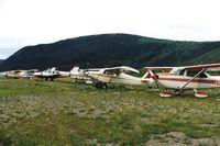 Dawson City Airport - Dawson City 1994 - by Clayton Eddy