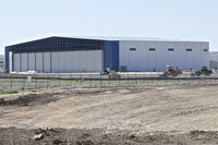 Boise Air Terminal/gowen Fld Airport (BOI) - Construction on the new Skywest maintenance hangar nearing completion. - by Gerald Howard